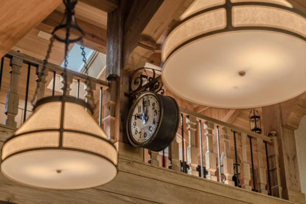 2010 West Lake Blvd - Clock